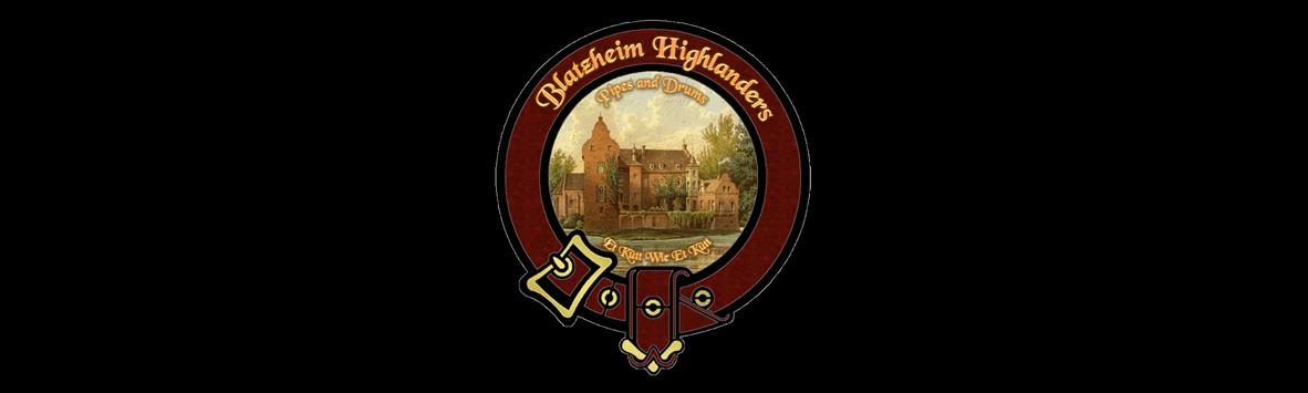 Blatzheim Highlanders Wappen bunt