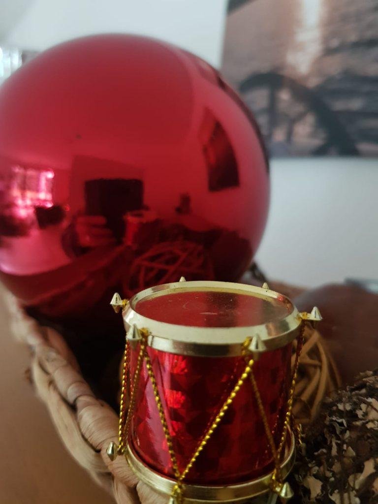 Weihnachtsdeko für Trommler