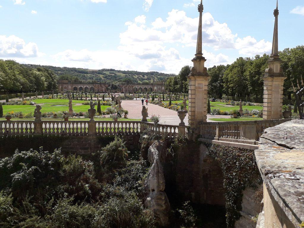 Schlosspark der Musikakademie Weikersheim